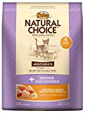 The Nutro Company Natural Choice Indoor Adult Cat Chicken and Whole Brown Rice Formula Food, 14-Pound