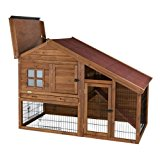 Trixie 62335 Natura Rabbit Hutch with Outdoor Enclosure 151 x 107 x 80 cm