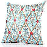 Sunburst Outdoor Living 60cm x 60cm VICTORIAN Pattern Decorative Throw Pillow Cushion Cover for Couch, Bed, Sofa or Patio - Only Case, No Insert