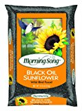 GLOBAL HARVEST FOODS LTD - Wild Bird Food, Black Oil Sunflower, 10-Lbs.
