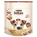 DeliBakie Dog Treats Rolls Ham and Cheese, 100 g - Pack of 6