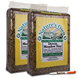 8KG Nature's Own Devon Meadow Hay Pet Food Animal Feed & Tigerbox Antibacterial Pen