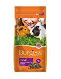 Burgess Excel Guinea Pig Nuggets Blackcurrant and Oregano 2kg (pack of 2)