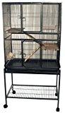 Flight cage in dark anitque finish