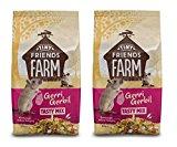 TINY FRIENDS FARM SUPREME GERRI GERBIL COMPLETE FOOD FEED MUESLI 2 X 850G BAGS