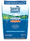 Natural Balance Pet Food Ultra Premium Formula Dry Dog Food -- 5 lbs