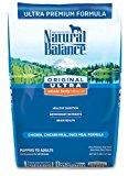 Natural Balance Pet Food Ultra Premium Formula Dry Dog Food -- 5 lbs