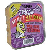 C. & S. Prod.12515Wild Bird Hang-Up Suet Cake-RAISIN DELIGHT SUET