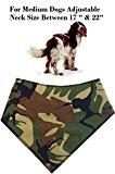 Spoilt Rotten Pets Dog Bandana. Khaki Camo, Medium Dog Bandana 17