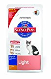 Hill's Cat Food Light Mature Chicken Dry Mix 1.5 kg