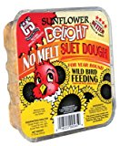 C & S PRODUCTS CO INC - Wild Bird Suet Dough Cake, Sunflower Delight, 11.75-oz.