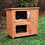 Trixie Protective Cover for Natura Hutch, 109 x 97 x 58 cm
