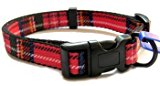 Small Red Tartan Ancol Collar 691220