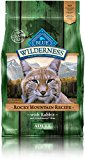 Blue Buffalo Cat Rocky Mountain Recipes Adult Rabbit Dry Cat Food, 4 lb Bag
