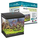 All Pond Solutions Nano Fish Tank Aquarium LED Lights, Small, 29 Litre, Black