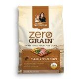 Rachael Ray Nutrish Zero Grain Dry Dog Food, Grain-Free Turkey/Potato Recipe, 14-Pound