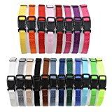 All4pet Soft Nylon Puppy ID Buckle Collars & Bands-Puppy Identification Litter Collars (set of 20)