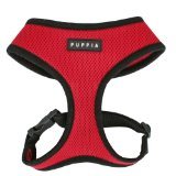 Puppia Soft Harness, M, Red