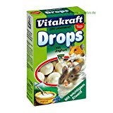 Vitakraft 25789 Rabbit Yoghurt Drops 75gm (9)