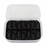 Reptile Breeding Box OMEM Reptile Lizard Incubation Box,8 groups,14 egg, Hatchery Box, Suitable for Hatching Snake,lizards, lions Mane, Reptiles (Egg tray Random Color)