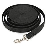 Water & Wood Black 30FT Long Dog Puppy Pet Puppy Training Obedience Lead Leash