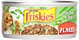 Friskies Flaked With Tuna & Egg In Sauce Canned Cat Food 24 - 5.5Oz Cans