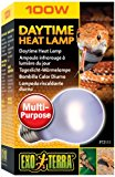 Exo Terra PT2111 Daytime Heat Lamp, 100 Watt