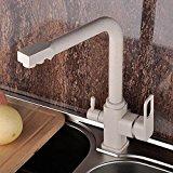 UZI-Küchenarmatur 360-Grad drehbaren Kupfer Spray Kitchen Sink Wasserhahn Wasser Filter Wasserhahn