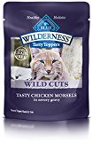 Blue Buffalo Wild Cuts Tasty Toppers Tasty Chicken Morsels Savory Gravy Wet Cat Food, 3 oz Can, Pack of 24
