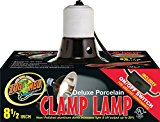 Zoo Med LF-12 Porcelain Clamp Lamp, 22 cm