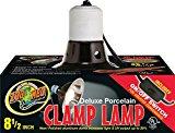 Zoo Med LF-12 Porcelain Clamp Lamp, 22 cm