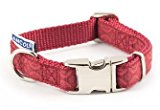 Ancol Indulgence Collar, to fit 20cm-30cm,  Red