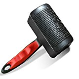 Switol Pet Slicker Brush Cat Brushes with Self Clean -Grooming Comb for Cats and Dogs- Remove Shed Hair To Keep Hair Fresh(small)