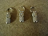 My Pet 3 Silver Address Tubes ID Name Tags Cats Dog Pet