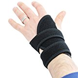 KurtzyTM 2 Pack Adjustable Wrist Strap Neoprene Breathable Support Splint