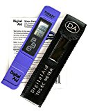 Digital Aid® Best Water Quality Test Meter. 0-9990ppm. Professional Tds, Ec And Temperature Meter. With Protective Leather Case. Tds (Totally Dissolved Solids)