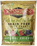 EVANGER'S 776300 Nothing But Natural Organic Chicken Dog Treats, 4.5-Ounce by Phillips Feed & Pet Supply [Pet Supplies]