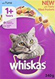 Whiskas Dry Cat Food Adult Chicken, 340 g, Pack of 6