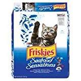 Friskies Seafood Sensations Dry Cat Food 16lb by Friskies