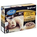 HiLife Tempt Me Chicken Collection Jelly Pouch Adult Cat Food 32 x 85g