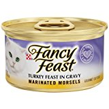 Case of Fancy Feast Marinated Morsels Turkey Feast in Gravy (24 Total)