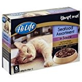 HiLife Tempt Me Seafood Assortment Pouch Adult Cat Food 32 x 85g