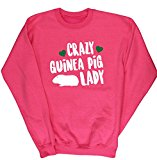 HippoWarehouse Crazy guinea pig lady kids unisex jumper sweatshirt pullover