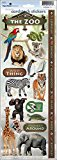 Paper House Productions Zoo Cardstock Sticker Sheet