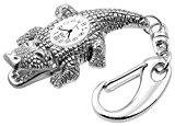 Crocidile Novelty Belt Fob/Keychain Watch