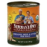 Newman'S Own Beef Liver Dog Food Can 12 Oz (Pack of 12)