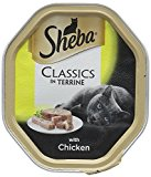 Sheba Cat Food Tray Classics in Terrine with Chicken^  85 g - Pack of 18