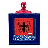 Marvel Ultimate Spiderman Small Betta Tank Fish Aquarium 0.5 Gal - For Kid's Room