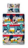 Character World Disney Mickey Mouse Play Single Rotary Duvet Set, Multi-Color