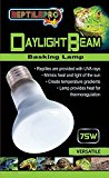 REPTILEPRO DAYLIGHT BEAM BASKING SPOT LAMP HEAT REPTILE BULB GLO REPTI SUN LIGHT (RTT034 DAY BASKING 75W)